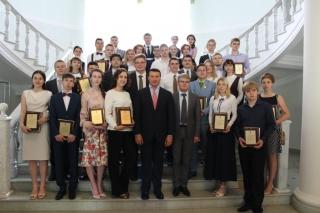 Лучшие выпускники Рязани получили награды