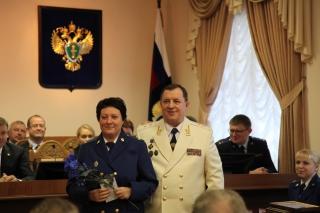 Сотрудников рязанской прокуратуры поздравили с профессиональным праздником