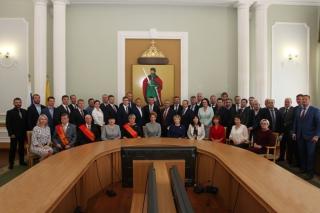 Состоялось первое заседание Рязанской городской Думы III созыва