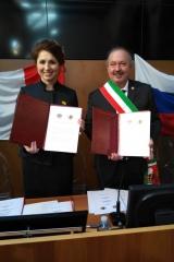 Юлия Рокотянская и Джанфранко Куттика ди Ревильяско подписали новое соглашение