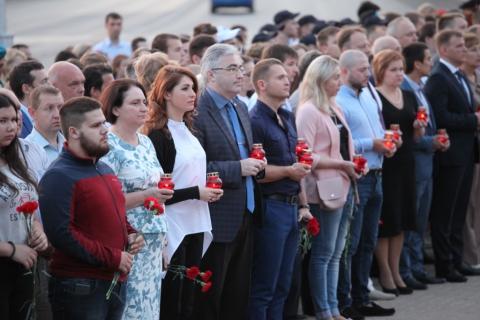 Рязанцы почтили память погибших в Великой Отечественной войне