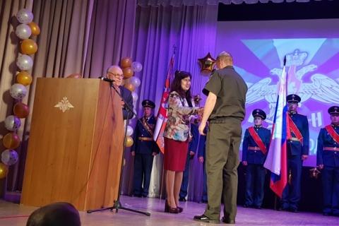 Депутаты РГД поздравили военнослужащих железнодорожных войск