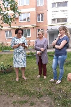 Елена Волкова: «Благоустроим наши дворы вместе»