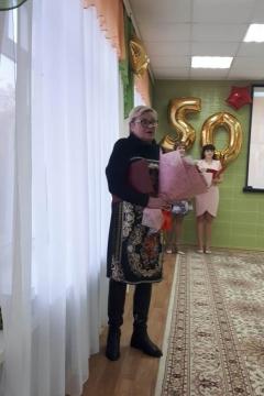 Светлана Попова поздравила коллектив детского сада №105 с юбилеем