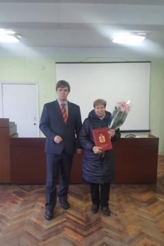 Алексей Захаров наградил работников МУП «УРТ»