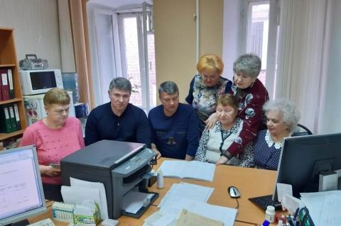 Александр Сидоров встретился с активистами округа