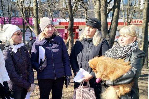 Светлана Ворнакова: «Благоустройство территорий возле домов – наше общее дело»