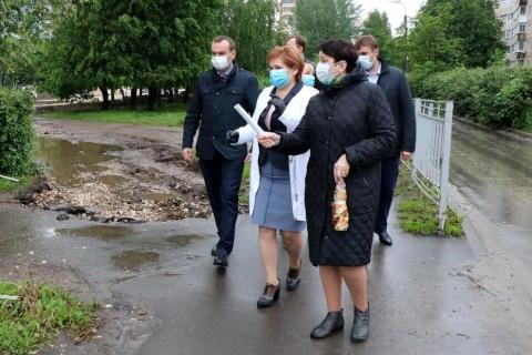 Татьяна Климова: «Сквер на Новоселов уже совсем скоро станет отличным местом для отдыха жителей микрорайона»