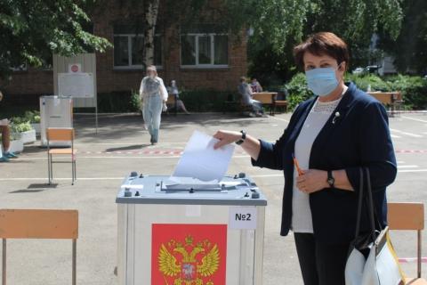 Татьяна Климова: «Голосование определит дальнейший путь развития нашего государства»
