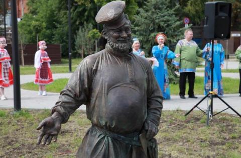 Новослободский сквер украсил Рязанский косопуз