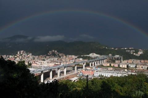 В городе-побратиме Рязани итальянской Генуе открыт новый мост