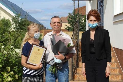 Глава Рязани поздравила с днём рождения Анатолия Лиферова