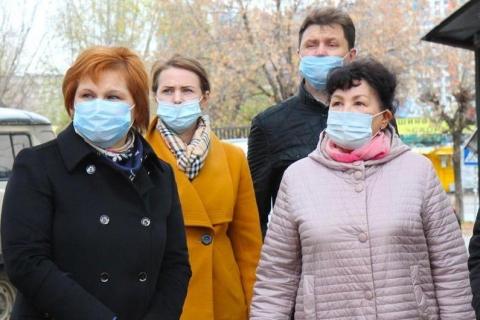 Роза Ризатдинова проинспектировала территорию сквера «Касимовский»