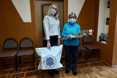 Депутат Светлана Ворнакова вручила ценный подарок рязанке
