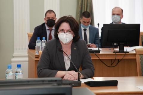 Елена Волкова будет работать в Рязанской городской Думе на постоянной основе