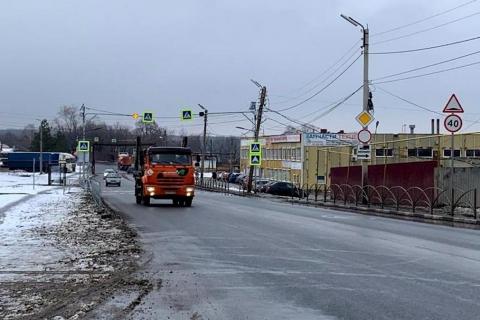 Улица Рязанская отремонтирована