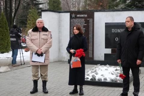 Инна Орешина: «Этот мемориал -  напоминание о героизме и доблести наших земляков»