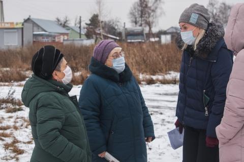 Депутат Светлана Ворнакова встретилась с жителями поселков Качево и Мордасово