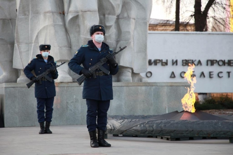 В Рязани отметили День неизвестного солдата