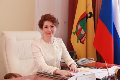 Поздравление главы Рязани Юлии Рокотянской с Днем защитника Отечества