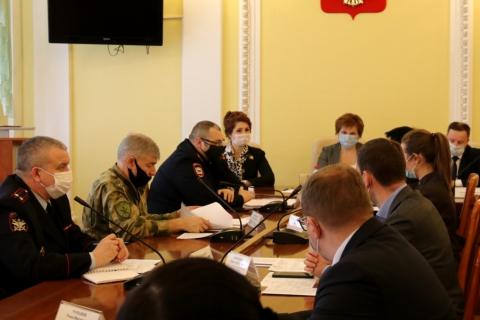 Юлия Рокотянская приняла участие в заседании городской антитеррористической комиссии