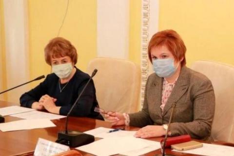Лариса Максимова приняла участие в обсуждении вопросов финансовой дисциплины