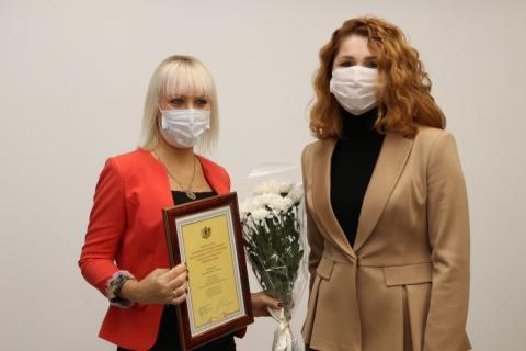 Юлия Рокотянская поздравила коллектив рязанского приборного завода